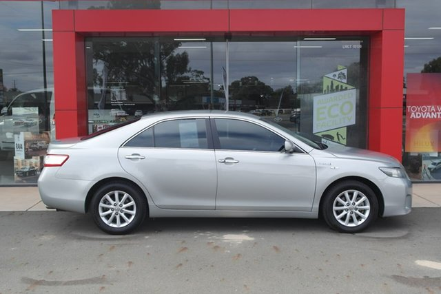 Pre-Owned Toyota Camry AHV40R Hybrid Swan Hill, 2011 Toyota Camry AHV40R Hybrid Silver 1 Speed Constant Variable Sedan Hybrid