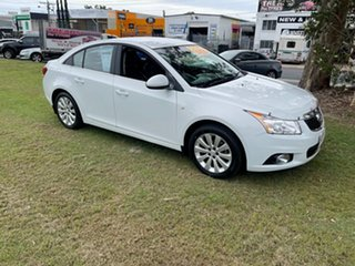 2011 Holden Cruze JH Series II MY11 CDX White 6 Speed Sports Automatic Sedan