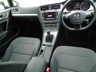 2015 Volkswagen Golf VII MY15 90TSI White 6 Speed Manual Hatchback