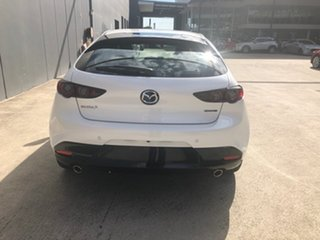 2021 Mazda 3 BP2HLA G25 SKYACTIV-Drive GT Snowflake White 6 Speed Sports Automatic Hatchback
