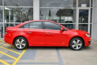 2016 Holden Cruze JH Series II MY16 Z-Series Red 6 Speed Sports Automatic Sedan