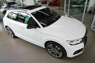 2019 Audi SQ5 FY MY19 Black Edition Tiptronic Quattro White 8 Speed Sports Automatic Wagon