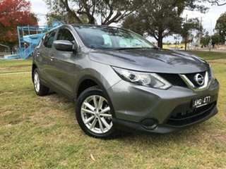 2017 Nissan Qashqai J11 ST Grey Continuous Variable Wagon