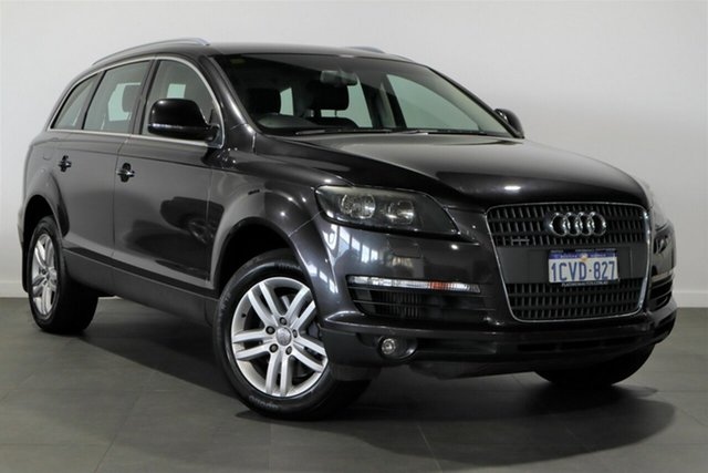 Used Audi Q7 MY08 TDI Quattro Bayswater, 2008 Audi Q7 MY08 TDI Quattro Grey 6 Speed Sports Automatic Wagon