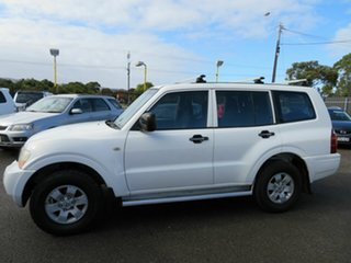 2003 Mitsubishi Pajero NP GLX LWB (4x4) White 5 Speed Auto Sports Mode Wagon