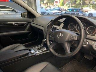 2010 Mercedes-Benz C-Class W204 C220 CDI Classic Tenorite Grey Automatic Sedan