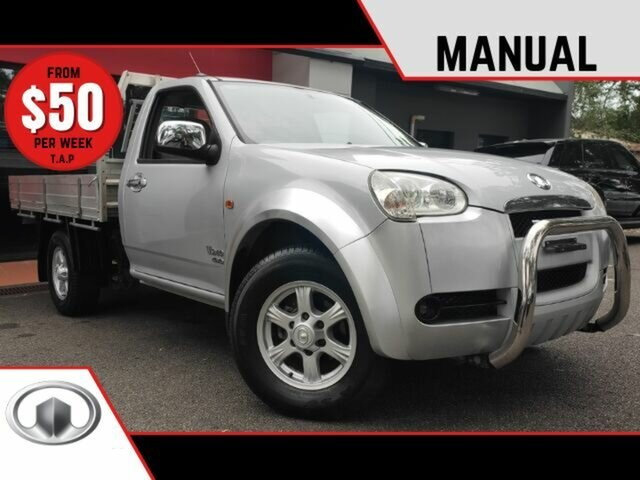 Used Great Wall V240 K2 MY12 Ashmore, 2012 Great Wall V240 K2 MY12 Metallic Silver 5 Speed Manual Cab Chassis