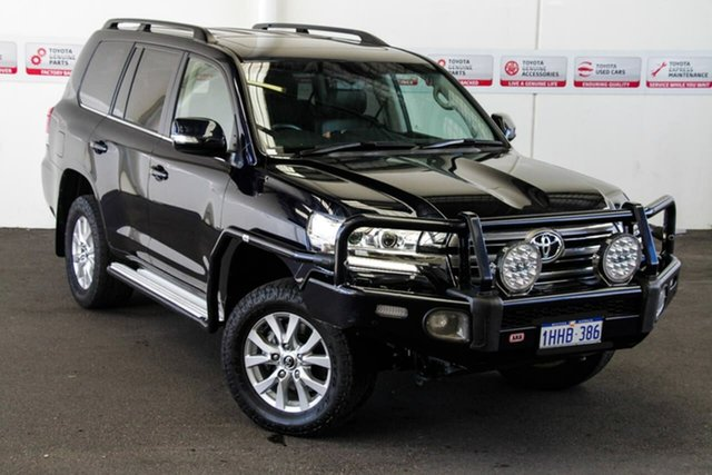 Pre-Owned Toyota Landcruiser VDJ200R MY16 VX (4x4) Rockingham, 2018 Toyota Landcruiser VDJ200R MY16 VX (4x4) Onyx Blue 6 Speed Automatic Wagon