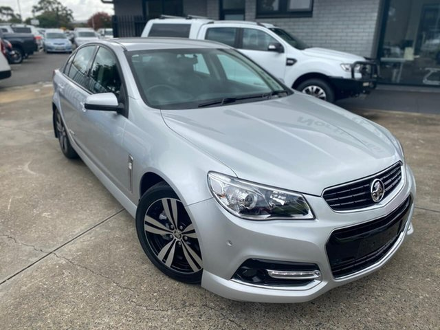 Used Holden Commodore VF MY15 SS Storm Hillcrest, 2015 Holden Commodore VF MY15 SS Storm Silver 6 Speed Sports Automatic Sedan