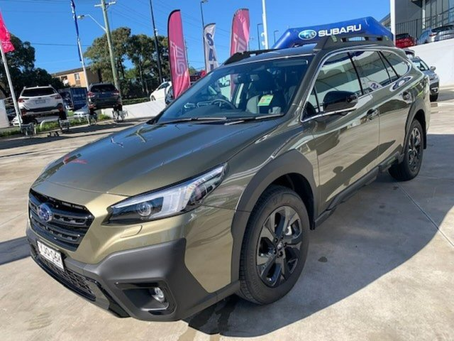 Demo Subaru Outback B7A MY21 AWD Sport CVT Liverpool, 2020 Subaru Outback B7A MY21 AWD Sport CVT Ap 8 Speed Constant Variable Wagon