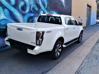 2020 Isuzu D-MAX RG MY21 LS-U Crew Cab Marble White Pearl 6 Speed Sports Automatic Utility.
