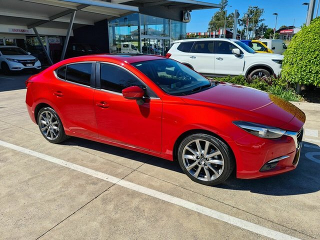 Used Mazda 3 BM5236 SP25 SKYACTIV-MT GT Yamanto, 2016 Mazda 3 BM5236 SP25 SKYACTIV-MT GT Red 6 Speed Manual Sedan