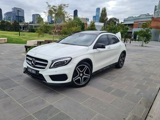 2016 Mercedes-Benz GLA-Class X156 806MY GLA250 DCT 4MATIC White 7 Speed Sports Automatic Dual Clutch.