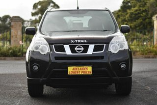 2012 Nissan X-Trail T31 Series IV ST 2WD Black 6 Speed Manual Wagon.
