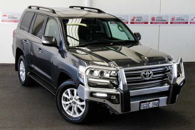 Pre-Owned Toyota Landcruiser VDJ200R MY16 VX (4x4) Myaree, 2016 Toyota Landcruiser VDJ200R MY16 VX (4x4) Graphite 6 Speed Automatic Wagon