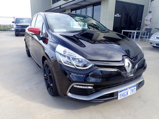 2015 Renault Clio X98 RS Sport Premium Black and Red 6 Speed Automatic Hatchback.
