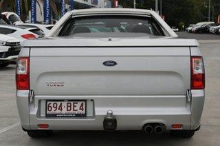 2012 Ford Falcon FG MkII XR6 Ute Super Cab Silver 6 Speed Manual Utility