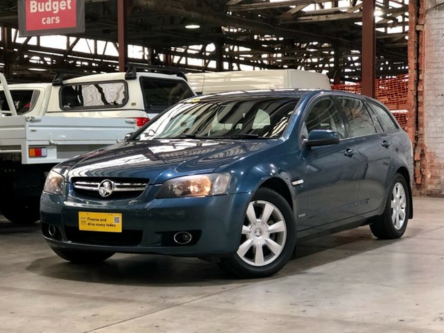 Used Holden Berlina VE MY10 Sportwagon Mile End South, 2009 Holden Berlina VE MY10 Sportwagon Blue 6 Speed Sports Automatic Wagon