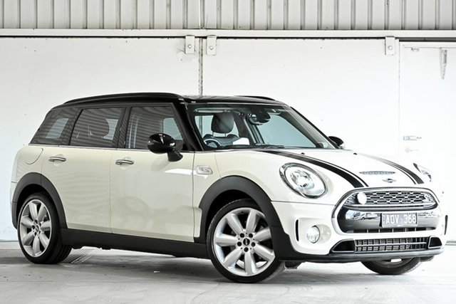 Used Mini Clubman F54 Cooper S Steptronic Laverton North, 2017 Mini Clubman F54 Cooper S Steptronic White 8 Speed Sports Automatic Wagon