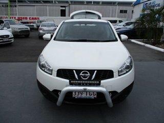 2013 Nissan Dualis ST White 4 Speed Automatic Wagon.