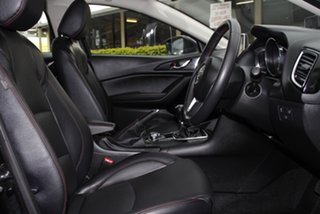 2015 Mazda 3 BM5436 SP25 SKYACTIV-MT GT Jet Black 6 Speed Manual Hatchback