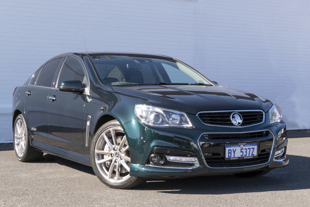 Used Holden Commodore VF MY14 SS V Redline Bunbury, 2014 Holden Commodore VF MY14 SS V Redline Regal Peacock 6 Speed Sports Automatic Sedan