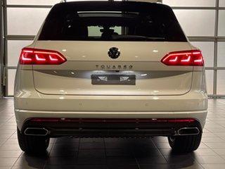 2020 Volkswagen Touareg CR MY21 210TDI Tiptronic 4MOTION R-Line White 8 Speed Sports Automatic Wagon