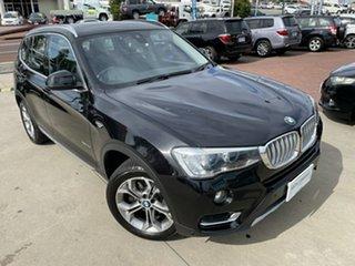 2017 BMW X3 F25 MY17 xDrive 20I Black 8 Speed Automatic Wagon.