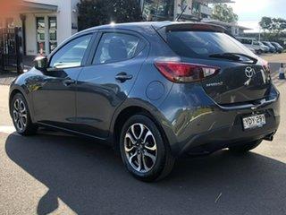 2016 Mazda 2 DJ2HAA Genki SKYACTIV-Drive Grey 6 Speed Sports Automatic Hatchback