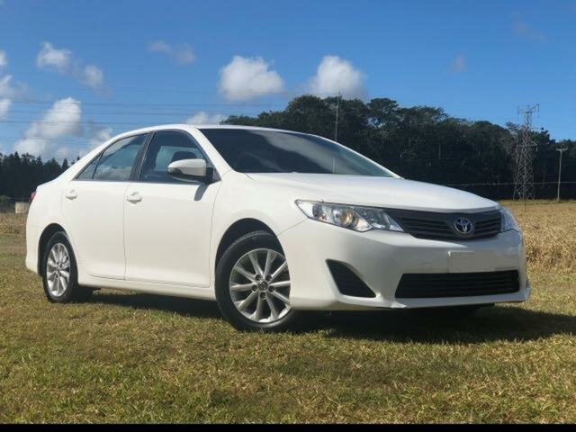 Pre-Owned Toyota Camry ASV50R Altise Atherton, 2015 Toyota Camry ASV50R Altise Diamond White 6 Speed Automatic Sedan