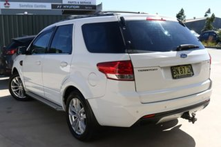 2012 Ford Territory SZ TS Seq Sport Shift White 6 Speed Sports Automatic Wagon.