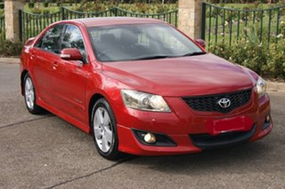 2007 Toyota Aurion GSV40R Sportivo SX6 Red 6 Speed Auto Sequential Sedan.
