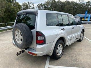 2000 Mitsubishi Pajero NM GLX LWB (4x4) Silver 5 Speed Auto Sports Mode Wagon.