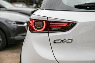 2018 Mazda CX-3 DK2W7A sTouring SKYACTIV-Drive FWD Snowflake White Pearl 6 Speed Sports Automatic