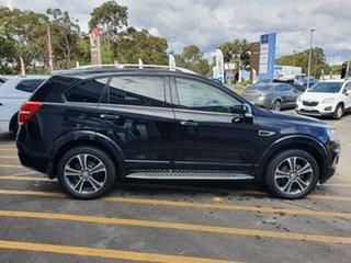 2016 Holden Captiva CG MY17 LTZ AWD Black 6 Speed Sports Automatic Wagon