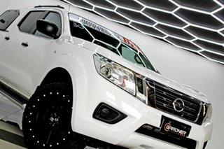 2017 Nissan Navara D23 Series II SL (4x4) White 7 Speed Automatic Dual Cab Utility.