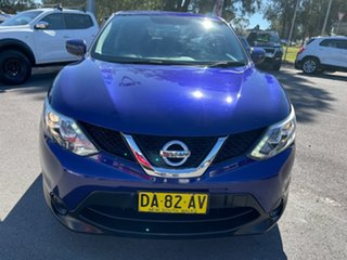 2016 Nissan Qashqai J11 ST Purple 1 Speed Constant Variable Wagon.