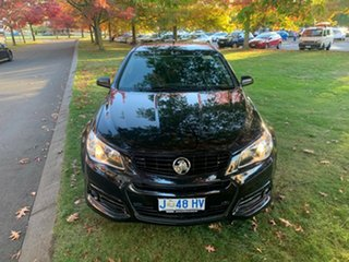 2013 Holden Ute VF MY14 SS V Ute Black 6 Speed Manual Utility.