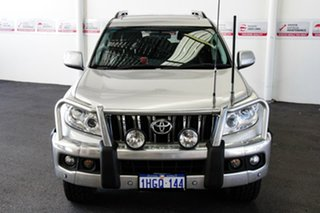 2013 Toyota Landcruiser Prado KDJ150R 11 Upgrade Altitude (4x4) Silver Pearl 5 Speed Sequential Auto.