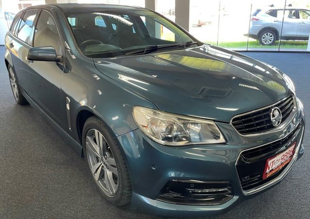 Used Holden Commodore VF MY14 SV6 Sportwagon Winnellie, 2013 Holden Commodore VF MY14 SV6 Sportwagon Blue 6 Speed Sports Automatic Wagon