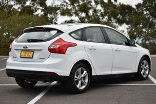 2014 Ford Focus LW MkII Trend PwrShift White 6 Speed Auto Sportshift Hatchback