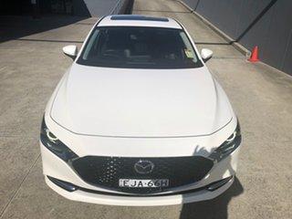 2020 Mazda 3 BP2SHA X20 SKYACTIV-Drive Astina Snowflake White 6 Speed Sports Automatic Sedan.
