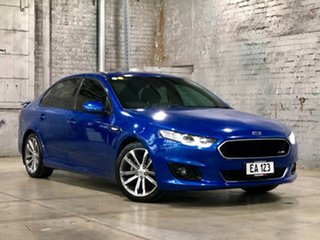2015 Ford Falcon FG X XR6 Blue 6 Speed Sports Automatic Sedan.