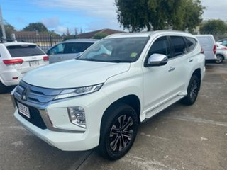2019 Mitsubishi Pajero Sport QF MY20 Exceed White 8 Speed Sports Automatic Wagon.