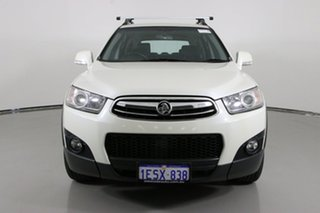2012 Holden Captiva CG MY12 7 CX (4x4) White 6 Speed Automatic Wagon.