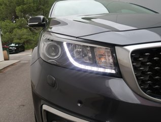 2015 Kia Carnival YP MY16 Platinum Grey 6 Speed Sports Automatic Wagon.