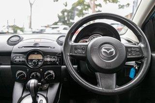 2012 Mazda 2 DE10Y2 MY12 Neo Aquatic Blue 4 Speed Automatic Hatchback