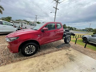 2021 Mazda BT-50 XT Red Volcano 6 Speed Automatic Spacecab