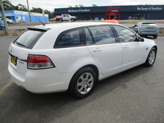 2010 Holden Commodore VE II Omega White 6 Speed Automatic Sportswagon.