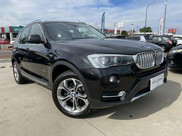 Used BMW X3 F25 MY17 xDrive 20I Victoria Park, 2017 BMW X3 F25 MY17 xDrive 20I Black 8 Speed Automatic Wagon
